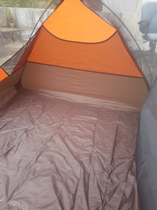 interior space & My preliminary thoughts on the Alps Mountaineering (Chaos II )-2 Man ...